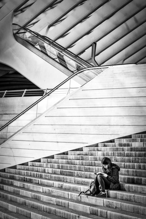 Frans Schrijver - Luik - Gare de Liège-Guillemins