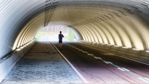 Aan het eind van de tunnel